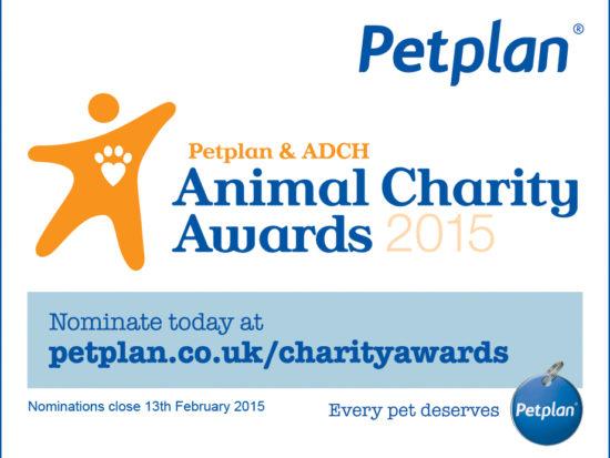 Animal Charity Awards 2015