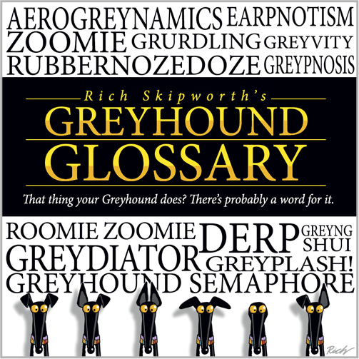 Greyhound Glossary book