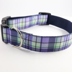 Heather tartan house collar