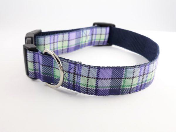 Heather tartan house collar