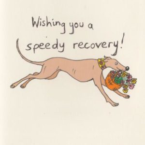 Speedy recovery card
