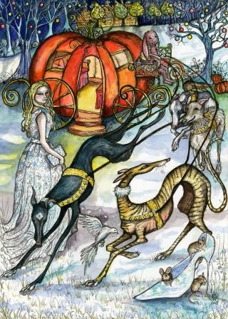Enchanting Magic Christmas cards