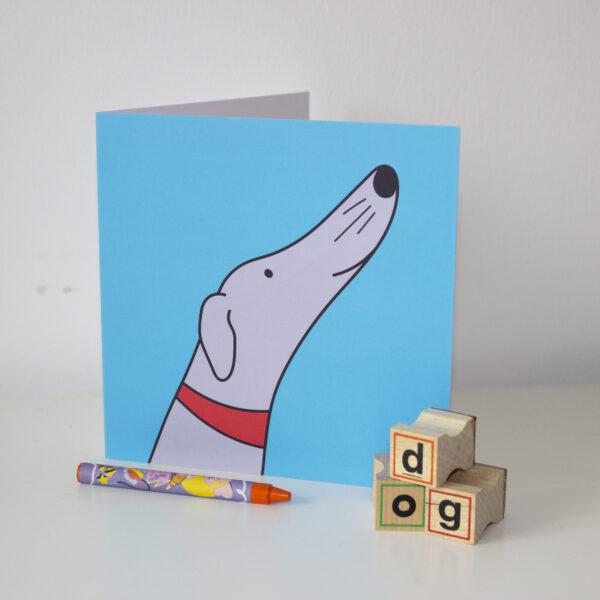 blue sighthound card