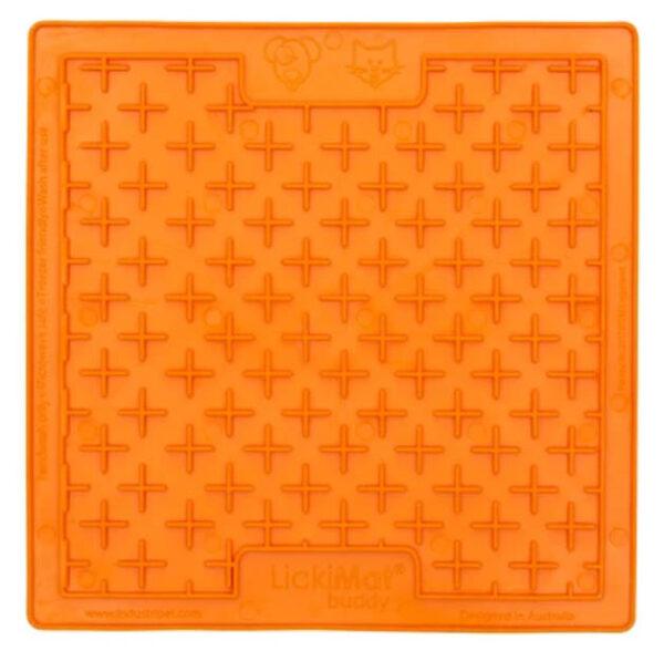 lickimat buddy orange 2