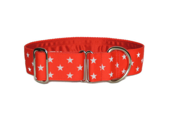 red stars luxury collar