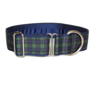 BW tartan luxury collar