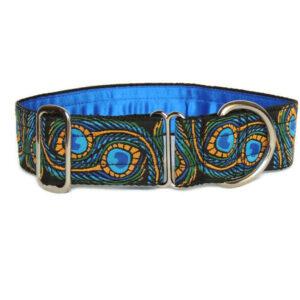 art deco peacock luxury collar