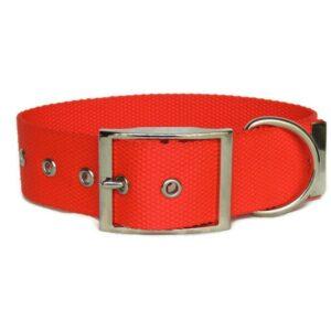 Standard flat buckle collar