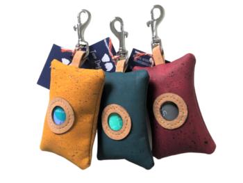 poo bag dispensers plain colours