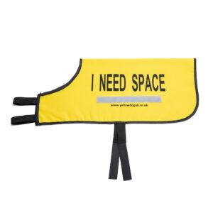 I NEED SPACE dog vest
