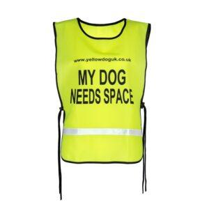 my dog needs space tabard